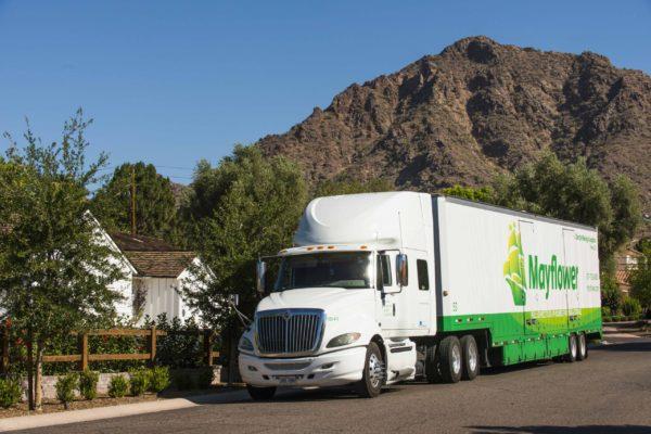 dircks truck outside a home